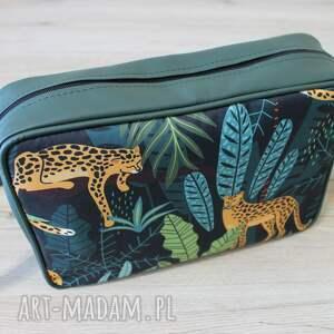 prezent świąteczny elegancka single bag - gepardy