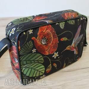 pomysł na prezenty świąteczne single bag - maki i koliber