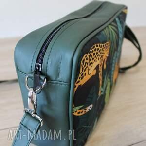 prezent świąteczny nowoczesna single bag - gepardy