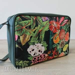 pomysły na święta prezenty zielone single bag - jesienna kompozycja