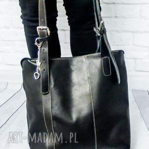 trendy na ramię torba skóra naturalna, torebka rękodzieło