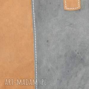 brązowe na ramię torebka skóra naturalna, unikatowa
