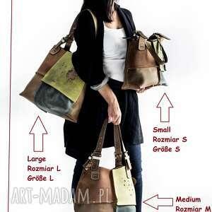 na ramię skórzana damska torba torebka alicja od ladybuq