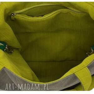 szare na ramię markowe 22-0015 szara ekskluzywna torebka