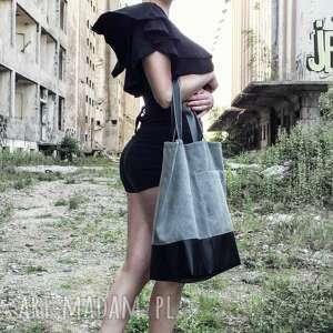 szare na ramię torba kobieca szara