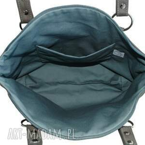 na ramię modne-torby-skórzane 41-0003 szara torebka skórzana