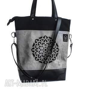4eca8a32b505a na ramię torba-kobieca szaro czarna torba mandala