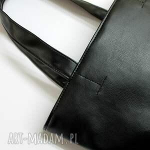 pomysł na święta upominki elegancka szoperka - czarna
