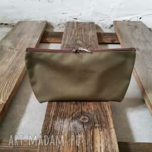 tashpack na ramię zielone khaki & tajemniczy las / tkaninowe torby