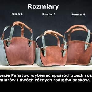 torba-do-ręki na ramię torba rudo szara kuferek
