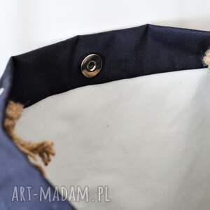 bawełniana na ramię torba
