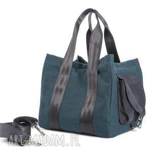handmade wielofunkcyjna torba big duo xl - morska