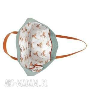 ekoskóra na ramię torba cuboid maxi iv