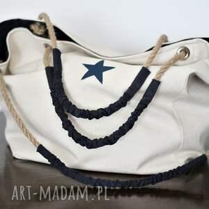 e8ed3be282caa torebka na ramię torba wykonana z grubej bawełny z bawełnianą