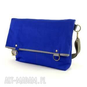 hand-made na ramię damska torba składana z serii duo