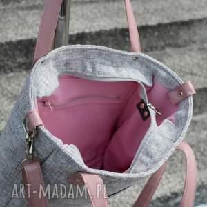 torba-do-biura na ramię torba damska cuboid sawana