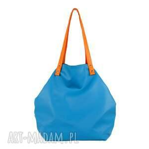 torba-damska na ramię turkusowe torba damska z kieszonką