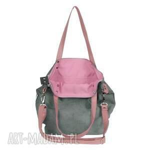 torba-do-pracy na ramię torba damska z tkaniny uchwytami
