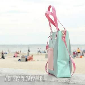 szare na ramię elegancka-torba torba damska cuboid