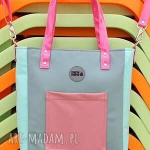 ręcznie robione na ramię elegancka-torba torba damska cuboid