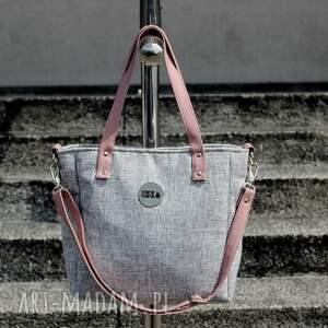 handmade na ramię elegancka-torebka torba damska cuboid sawana