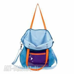 pomarańczowe na ramię torba-na-ramię torba damska z kieszonką