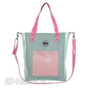 ręcznie robione na ramię torba-do-szkoły torba damska cuboid