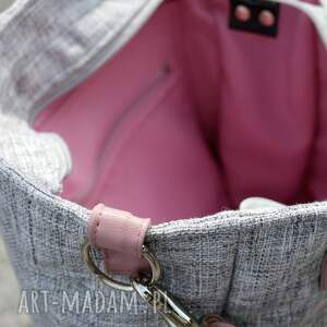 handmade na ramię torba-do-biura torba damska cuboid sawana
