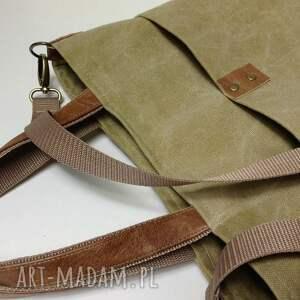 torba na ramię zielone do ręki, ramię.
