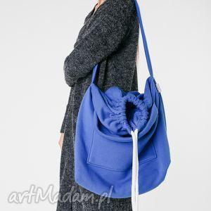 worek na ramię torba dzianinowa kobatowa