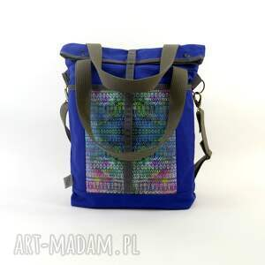 pomysły na święta prezenty torba ramię blue aztek