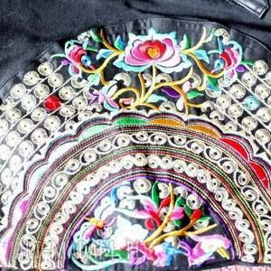 na ramię boho torba etniczna haftowana