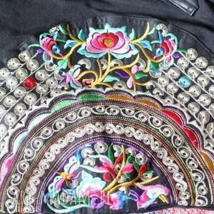 boho na ramię torba etniczna haftowana