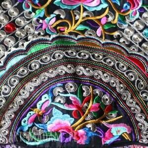 handmade na ramię boho torba etniczna haftowana