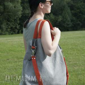 wyjątkowe na ramię torba hobo xxl - szary