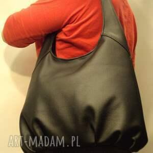 upominek prezent torba hobo - miedziana