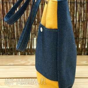ręcznie zrobione na ramię torebka torba hobo