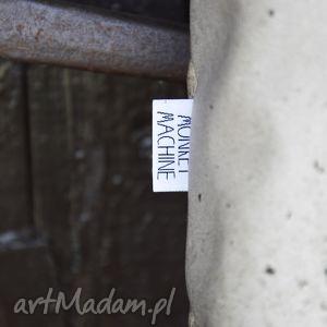 oryginalna na ramię torba mr m beton / uszy skóra