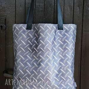 handmade na ramię blacha torba mr. m / uszy skóra