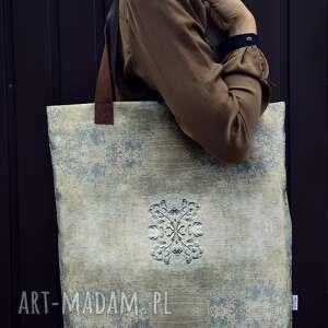 hand-made na ramię torba mr m ornament / uszy skóra