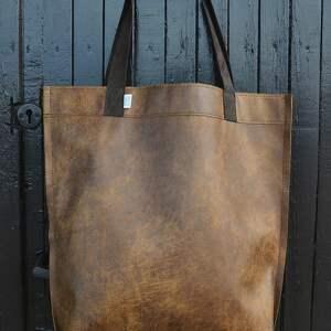handmade na ramię miejska torba mr m vintage ruda skóra
