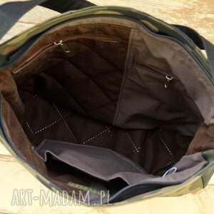 na ramię torebka torba moro z kieszenią