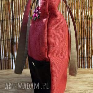 torebka na ramię różowe torba