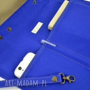 tote na ramię torba serenity blue