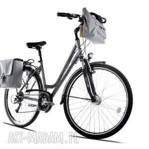 torba na ramię rowerowa romania jasno szara