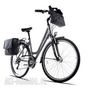torba na ramię rowerowa romania czarna