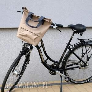oryginalne na ramię rower torba rowerowa san marino beż