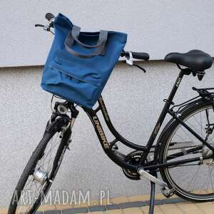 na ramię rower torba rowerowa san marino niebieski