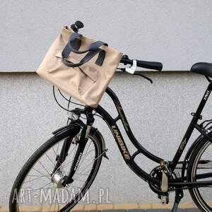 wyjątkowe na ramię rower torba rowerowa romania beż