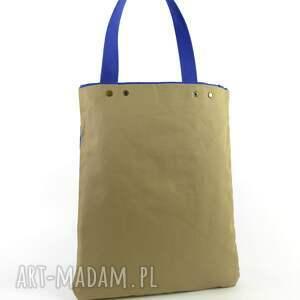 na ramię tote torba serenity blue